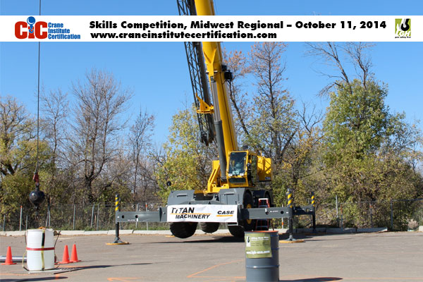 2014 Midwest Crane and Rigging Competition, Minot, ND
