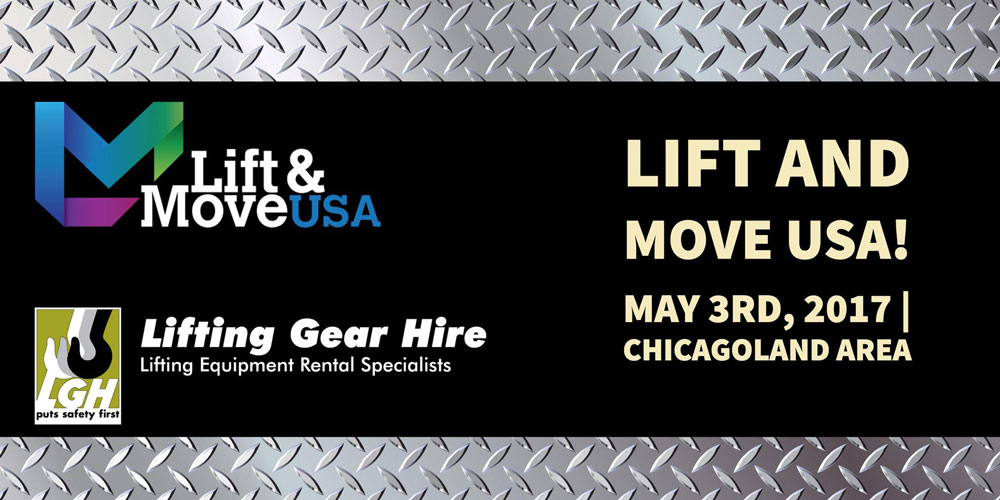 Lifting Gear Hire to Host a Lift & Move Career Fair in May 2017
