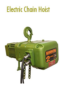 Electric Chain Hoists Rental | Hoisting Equipment