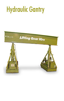 Hydraulic Gantry Rental | Hoisting Equipment