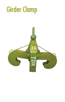 Girder Clamps Rental | Hoisting Equipment