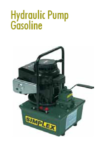 Gasoline Hydraulic Pump Rental | Jacking Equipment