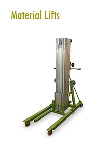 Material lifts Rental | Material Handling Equipment