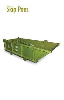 Skip Pans Rental | Material Handling Equipment