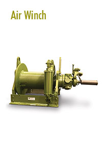 Air Winches Rental | Pulling Equipment