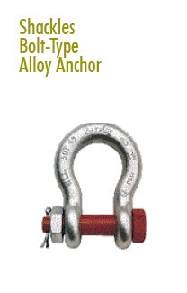 Shackles Rental | Rigging Equipment